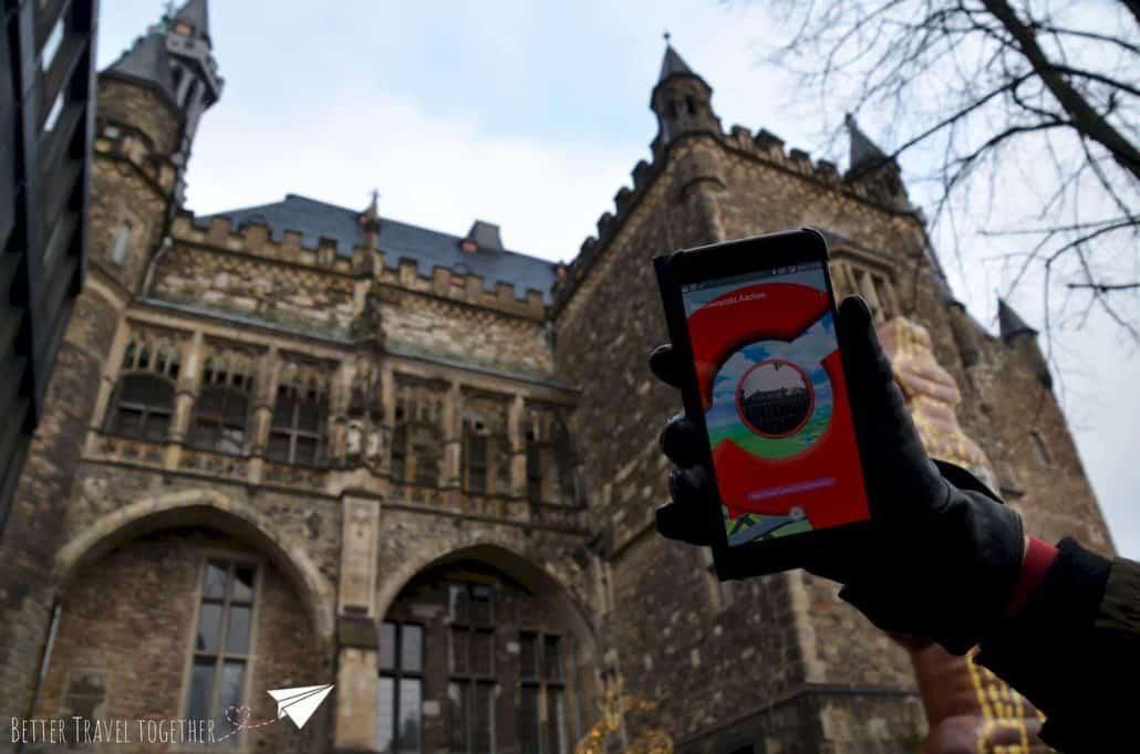 Pokémon Go in Aachen