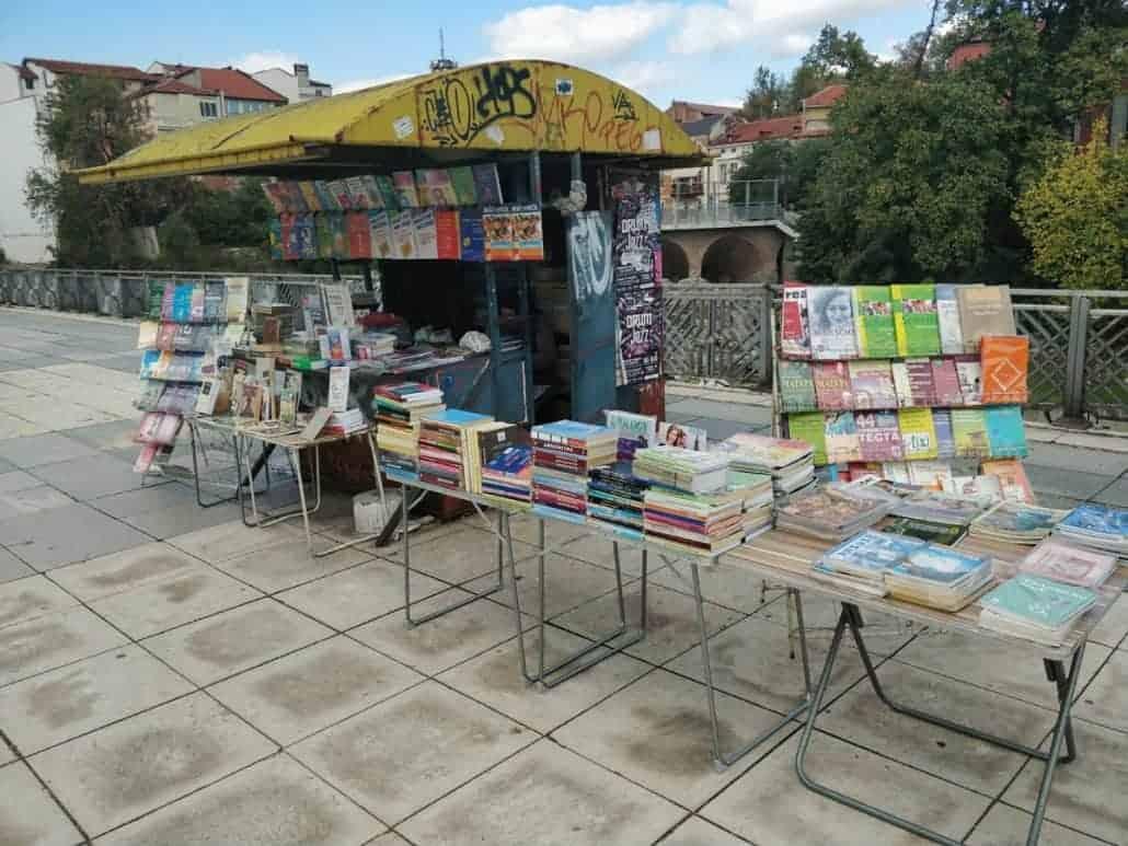 cute book stalls
