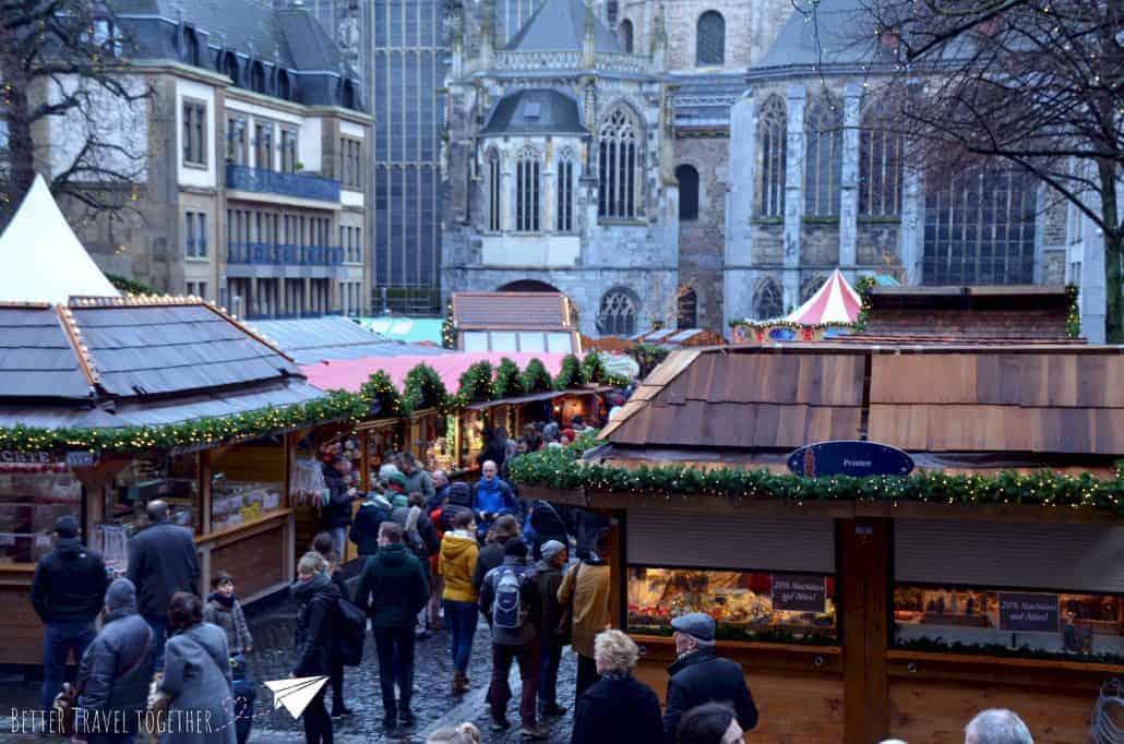 christmas market in Aachen