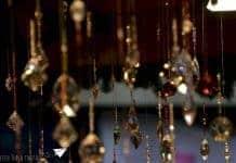 handmade glasswork hangers