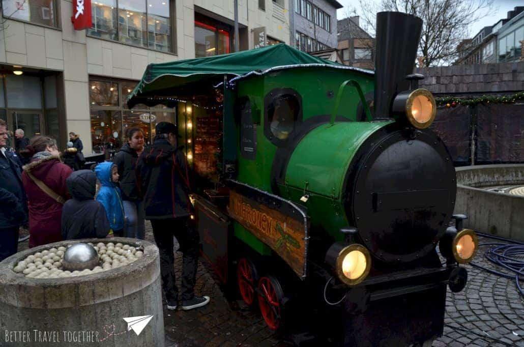 maronen chestnut train