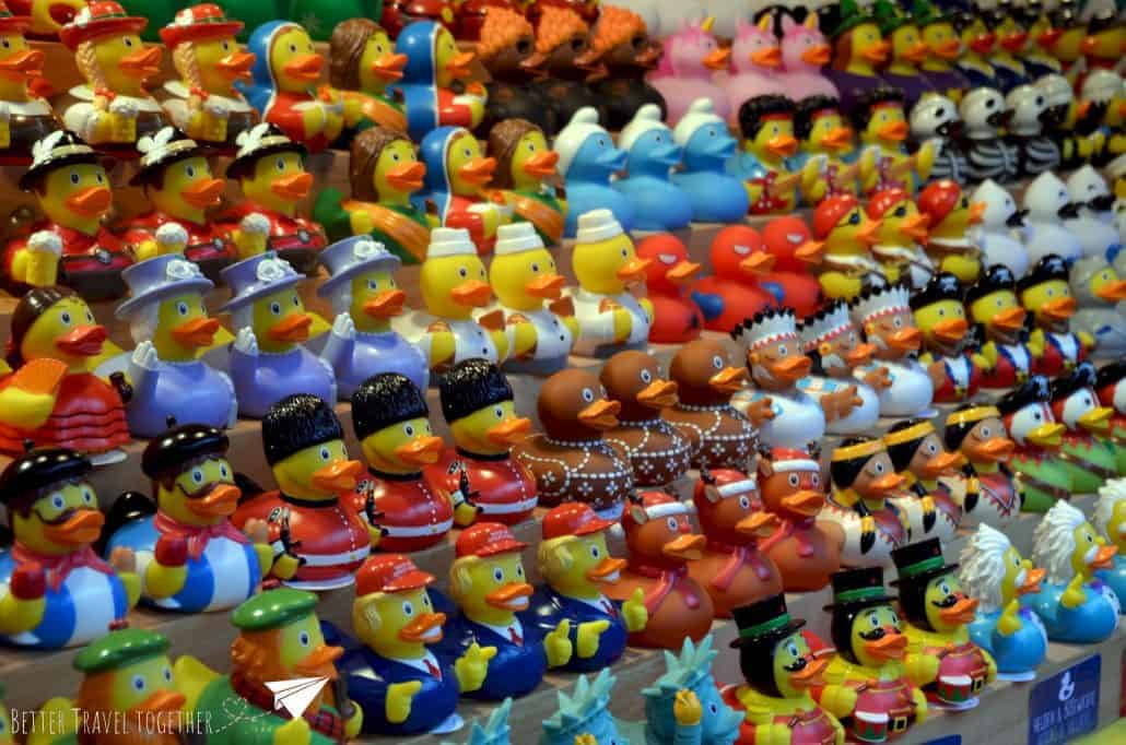 rubber duck stall