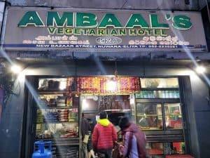 ambaals veggie hotel