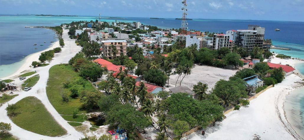 Drone shot Maafushi