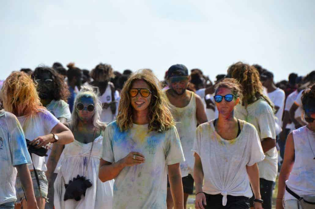 holi festival in Galle