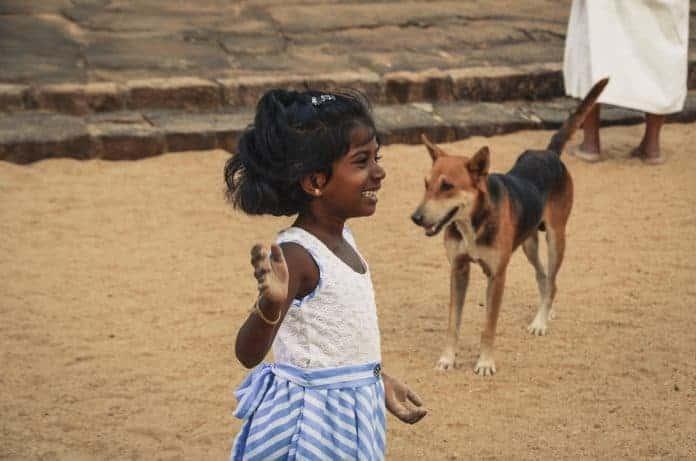 Little girl, Sri Lanka