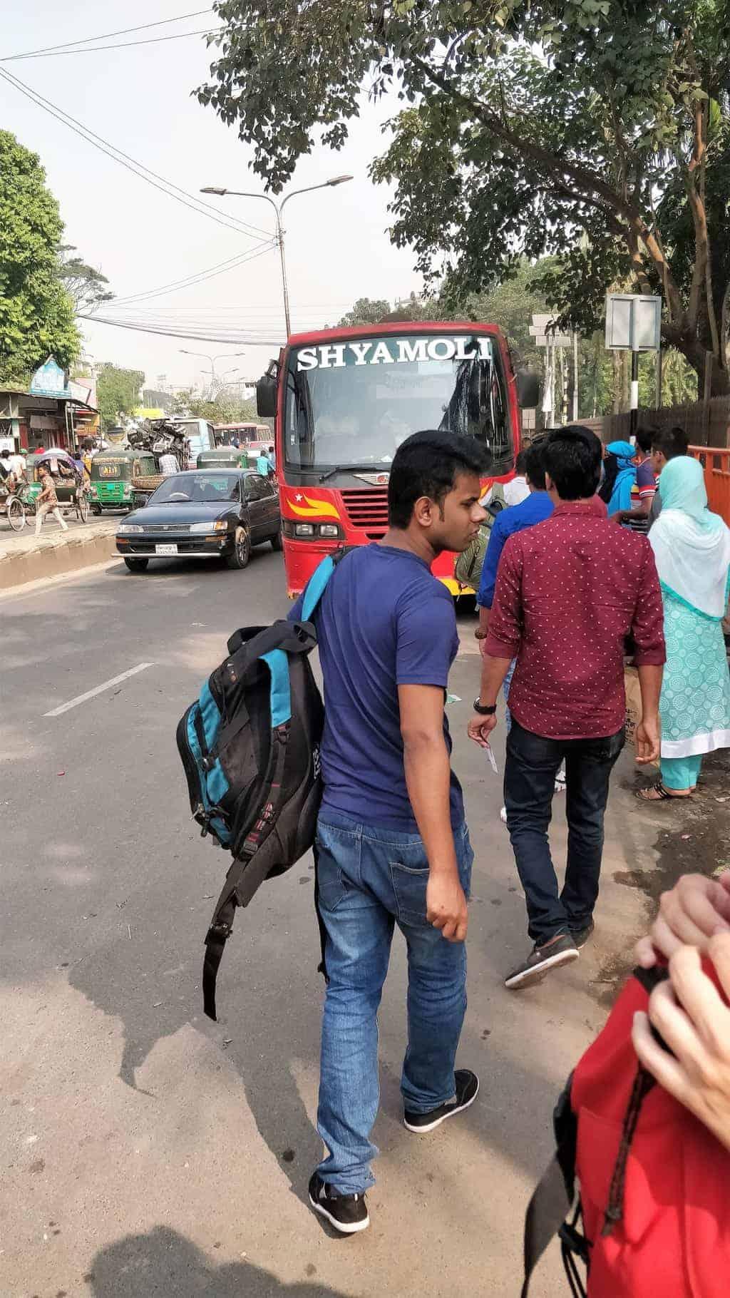shyamoli bus from dhaka to Sylhet